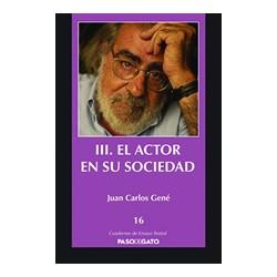 III. El actor en su sociedad