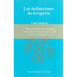 Las definiciones de Gregorio