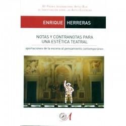 Notas y contranotas para una estética teatral. Aportaciones de la escena al pensamiento contemporáneo