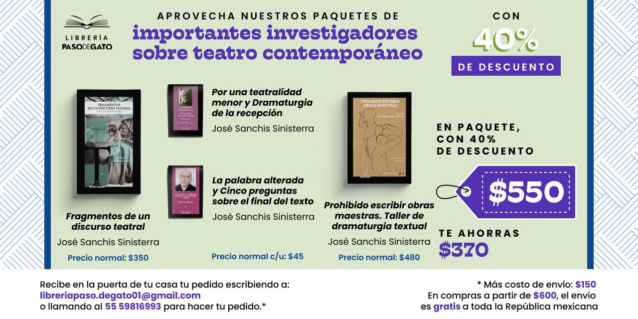 Teatro contemporáneo José Sanchis Sinisterra