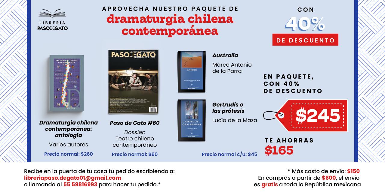 Dramaturgia chilena contemporánea