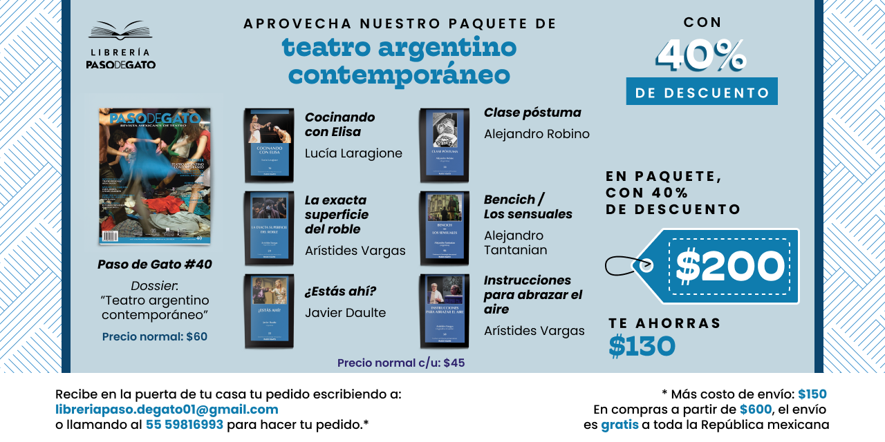 Teatro argentino contemporáneo